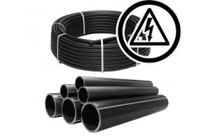 Трубы ПНД для электрокабеля