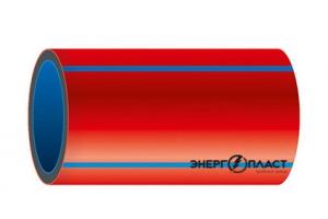 Трубы ТЗК ЭНЕРГОПЛАСТ ТС З трехслойные термостойкие с внутренним негорючим слоем