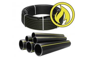 Труба ПЭ 100 63*3,8 SDR17 для газа