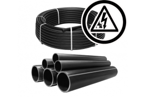 Труба ПЭ 100 63*3,6 SDR17 для электрокабеля