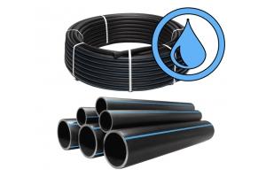 Труба ПЭ 100 75*8,4 SDR9 для воды