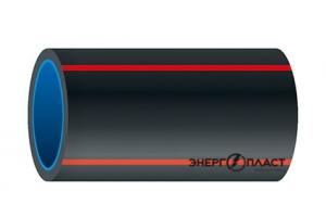 Труба ТЗК ЭНЕРГОПЛАСТ ТС 2-ОЛ двухслойная термостойкая DN110-L-250