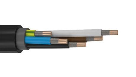 Кабель ВВГнг(А)-FRLS 5х6 ок - 0,66 кВ